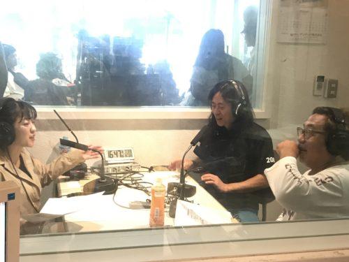 省吾さん、mikaさん、須藤祐とのスタジオ収録の様子&3ショットです。